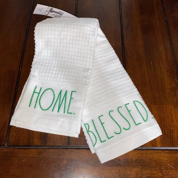 Rae Dunn St. Patrick's Day Kitchen Towels